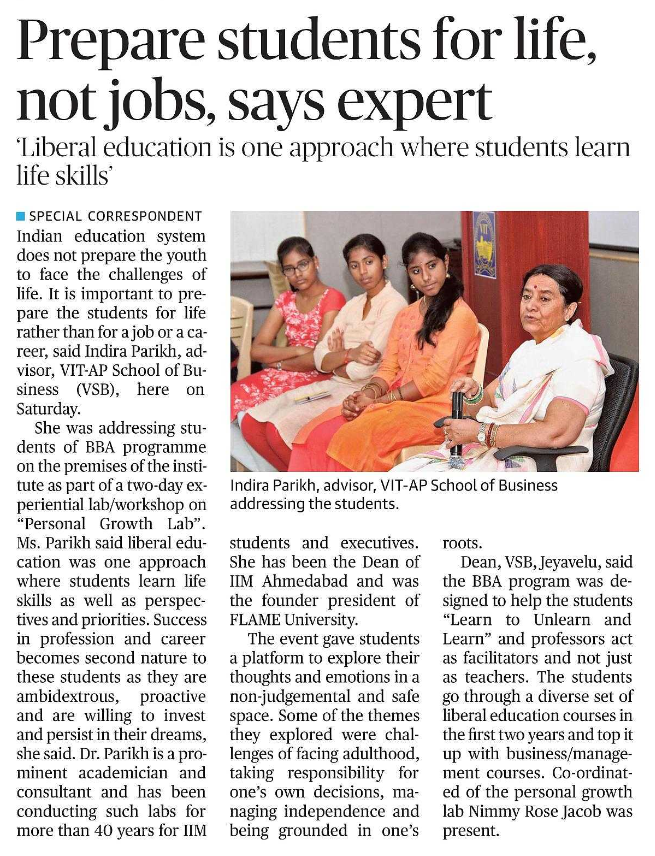 Prepare students for life, not jobs, says expert