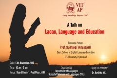 Talk on Lacan