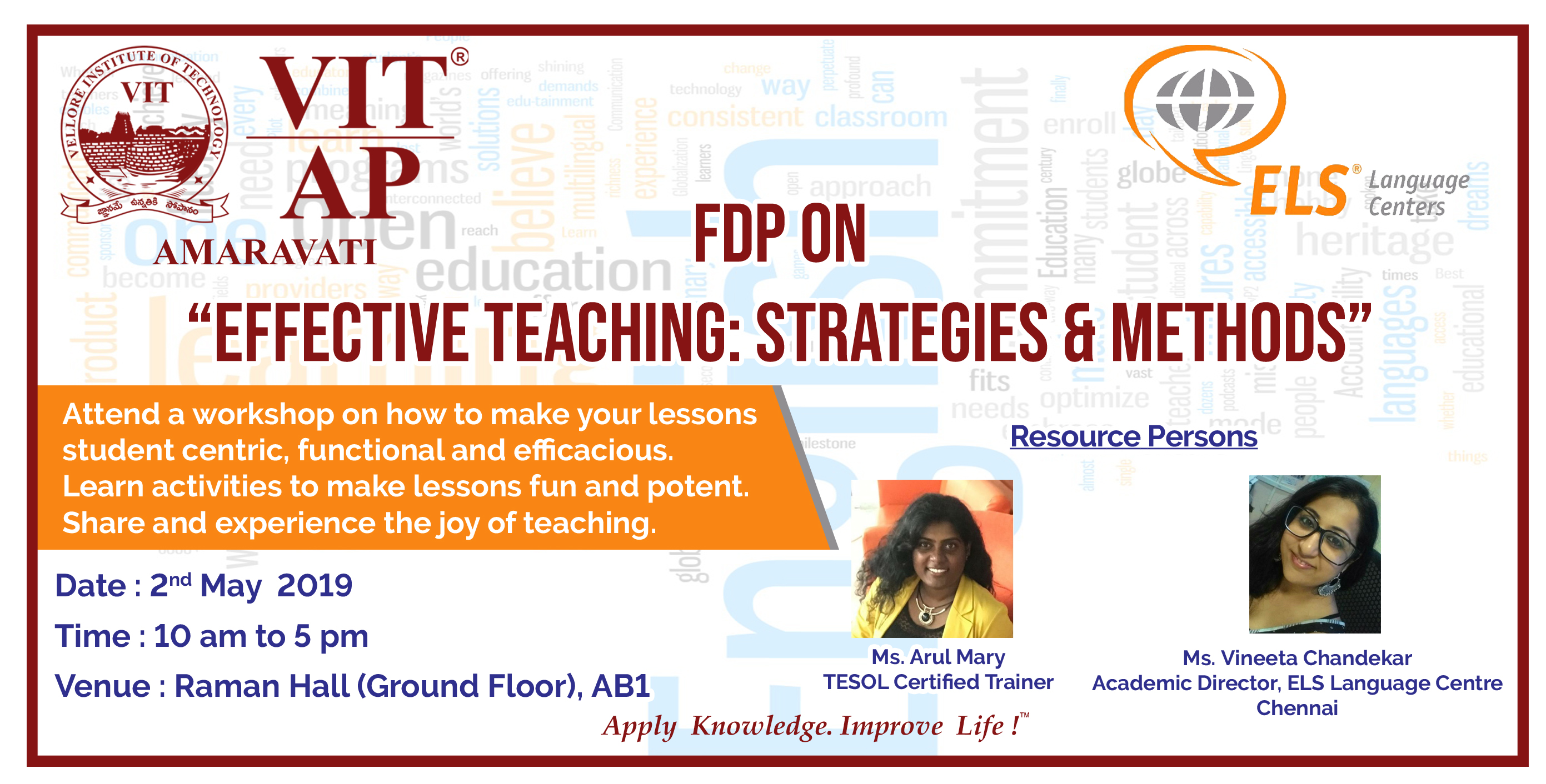 FDP on Effective Teaching : Strategies & Methods