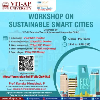 WORKSHOP ON SUSTAINABLE SMART CITIES