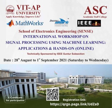 5-day International Workshop on Signal Processing using Machine Learning