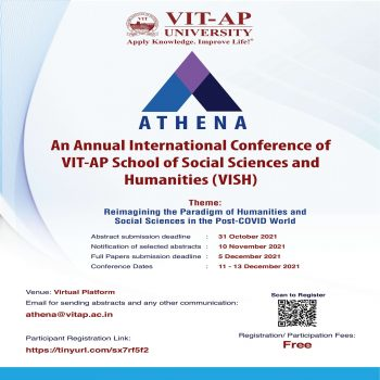 ATHENA - An Annual International Conference (11-13 December 2021)