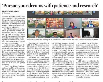 Pursue your dreams with patience and research